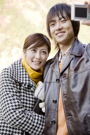 commemorative: Couple that a commemorative photograph
