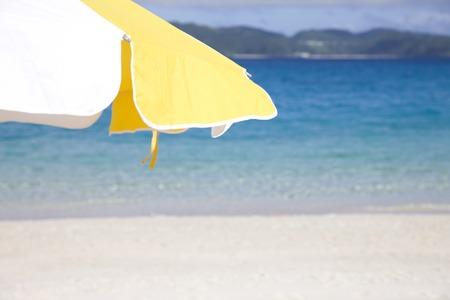 parasol: Parasol and sea