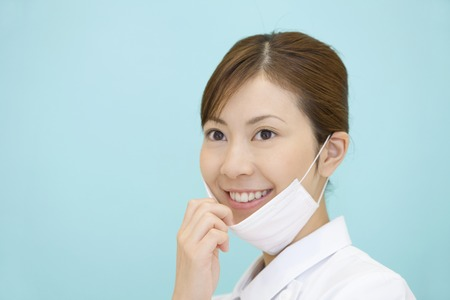 dental hygienist: Dental hygienist Stock Photo