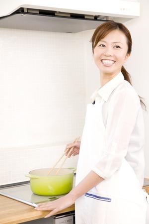 seres vivos: Mujer de cocina