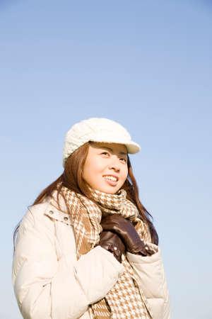 seres vivos: La mujer que tiene frío previsible