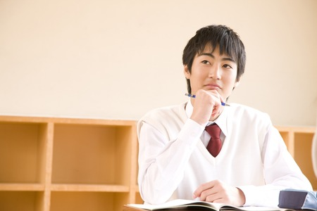Take lessons male junior high school students