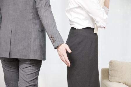 Männer auf sexuelle Belästigung