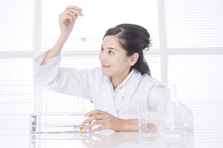 Pharmacist to do research Фото со стока