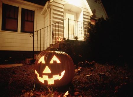 ou: Jack Ou lantern Stock Photo