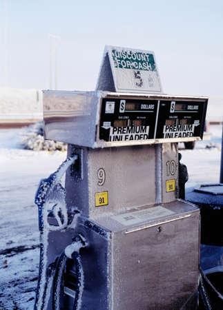 surtidor de gasolina: Bomba de gasolina