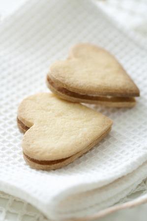 Heartshaped cookies