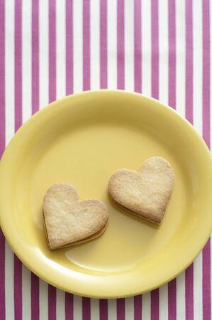 heartshaped: Heartshaped cookies