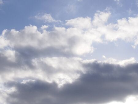 cloudiness: Clouds in the sky