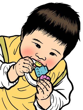 bite: baby bite