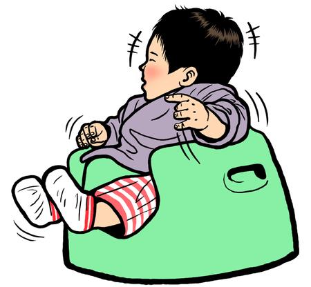 child sitting: Happy baby