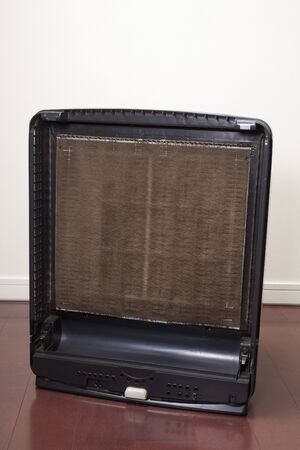 汚れた空気清浄機をフィルターします。 写真素材