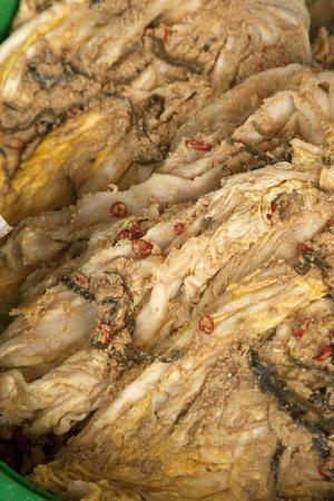 bran: Bran pickled Chinese cabbage