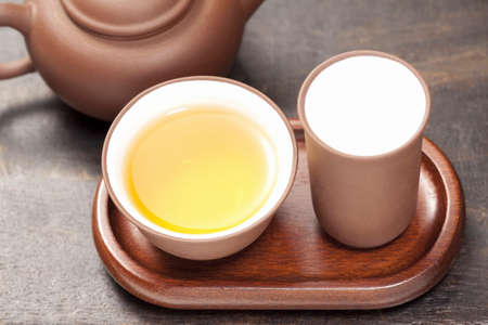 oolong: Alpine oolong tea and Chinese tea Stock Photo
