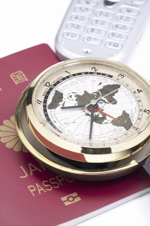 国際時計とパスポート