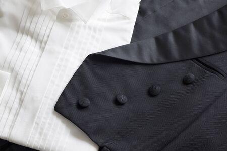 black: Black Tuxedo Stock Photo