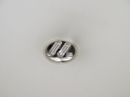 expire: A blown ceiling light bulb