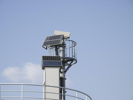 swollen: Swollen surveillance camera of the river