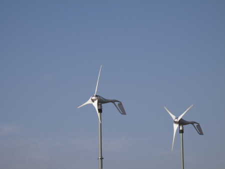 power generation: Propeller home for wind power generation