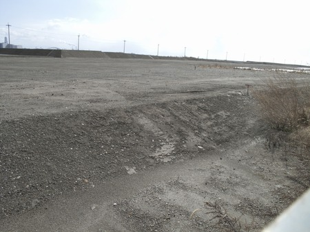 landfill: Hanshin harbor of landfill Stock Photo