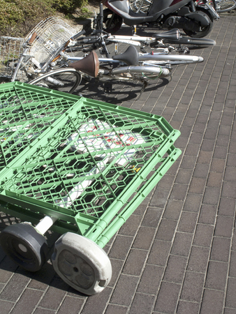 gust: Bicycle fell in gust