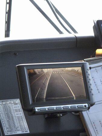 車のバック モニター