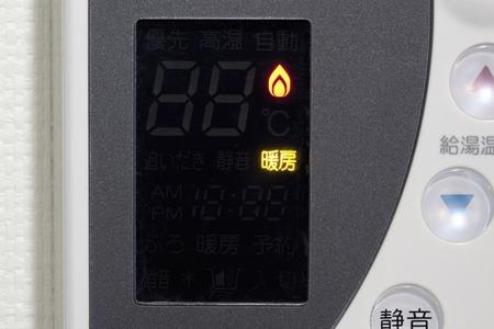 ガス加熱動作の兆候