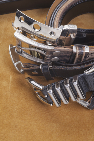 buckles: Belts and buckles for men