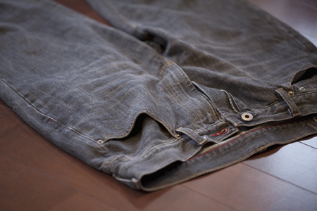men's: He threw the mens jeans
