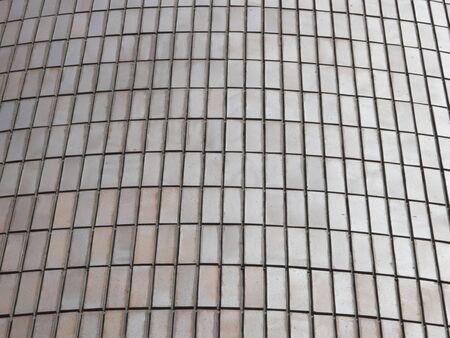 タイルの建物の壁