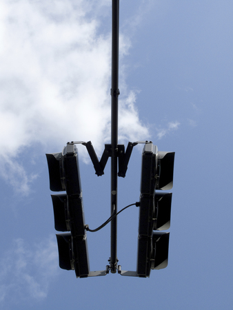 traffic signal: New silhouette of the vehicle for a traffic signal Banque d'images