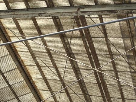 プラスチック段ボール鉄の屋根