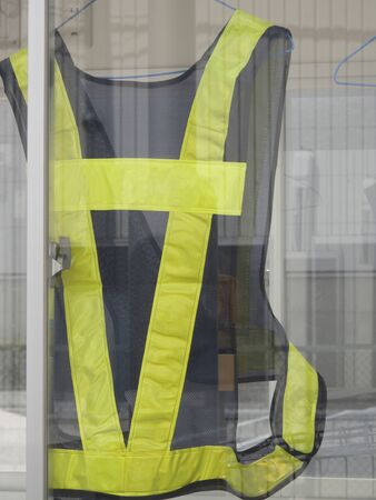safety: Guards safety vest Stock Photo