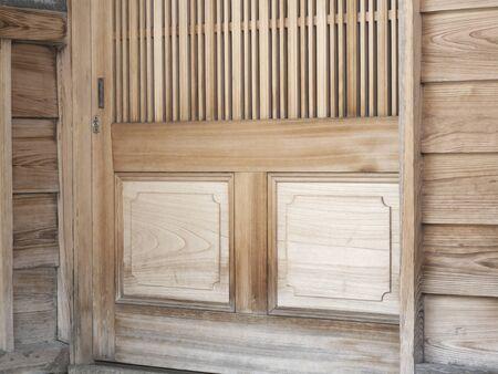 wicket door: House of sliding door