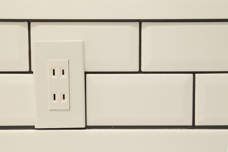 electrical materials: Tile and outlet