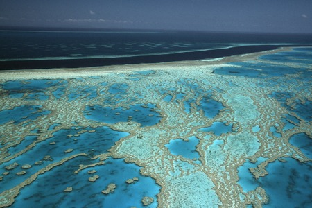 barrier: Great Barrier Reef Stock Photo