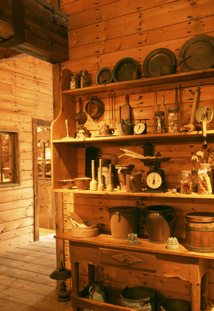 country kitchen: Country kitchen Stock Photo