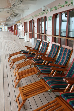 reposera: Passenger image deck chair