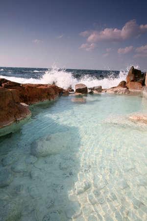 openair: Onsen open-air bath of Saki