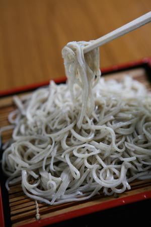 soba noodles: Cold soba noodles