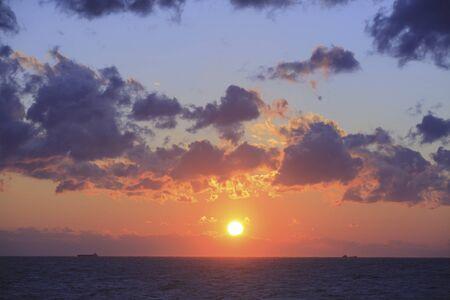 태평양 일몰