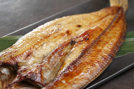 Atka mackerel grilled