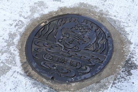 manhole: Of Shibu Onsen manhole