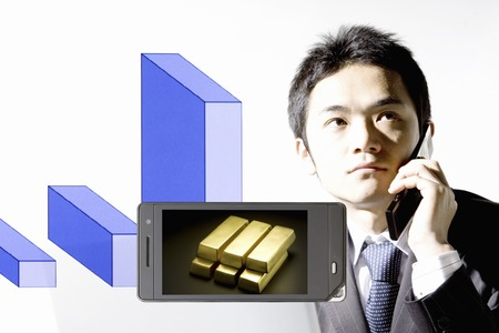 net worth: Gold that goes to the businessman and the portable screen