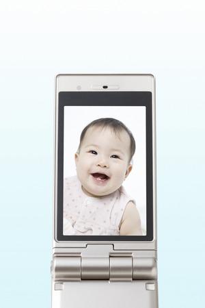 Smile baby photo