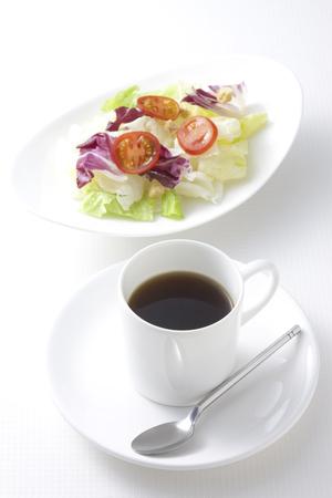 intermission: Coffee and salad