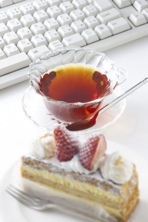 shortcake: Tea and shortcake