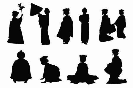 apprentice: Kimono silhouette