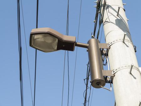 street light: The newly established street light