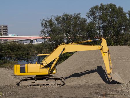 power shovel: Civil engineering construction